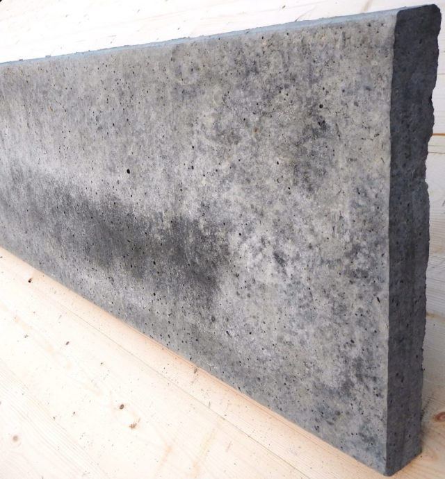 300mm plain doncrete gravel board