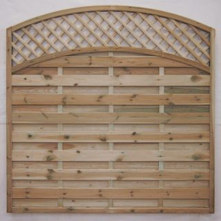 arched lattice panel