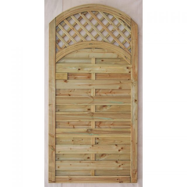 Arched Lattice Top Gate Platers Fencing Amp Garden Buildings