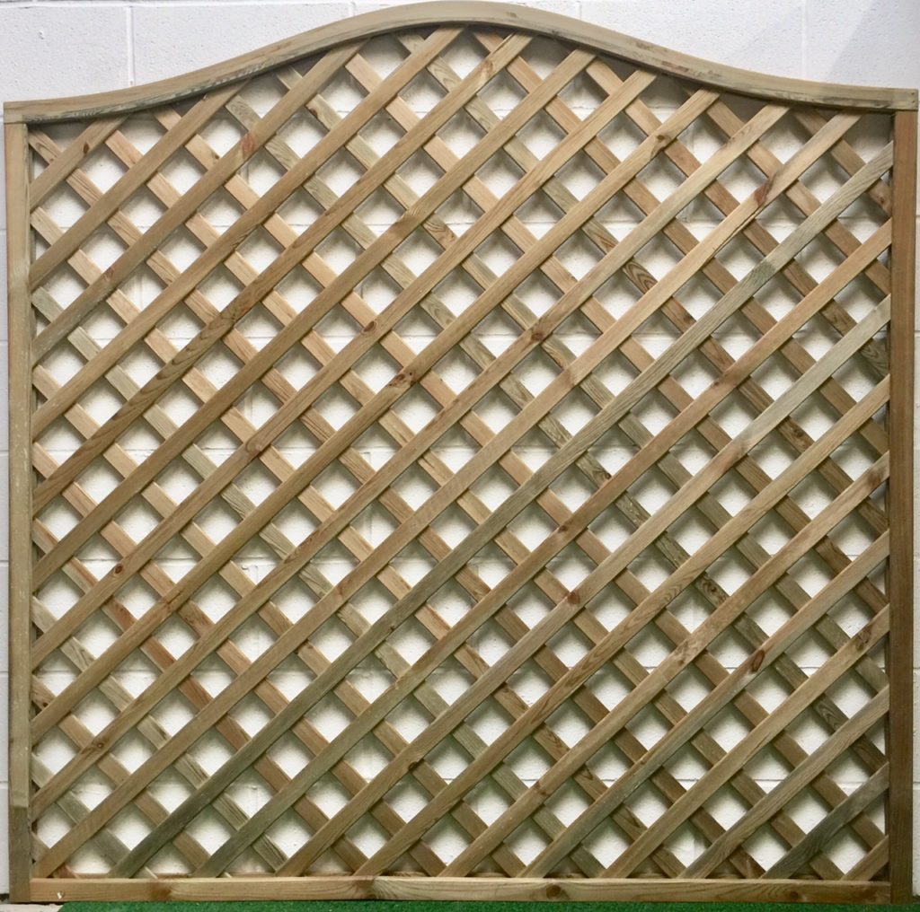 Omega Lattice Trellis | Platers Fencing & Garden Buildings